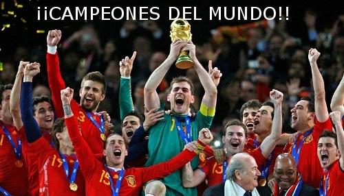 SOMOS CAMPEONES DEL MUNDO!!