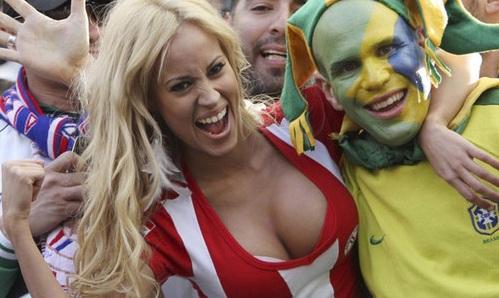 Paraguay ganó la copa en las gradas