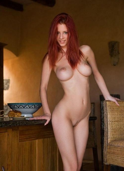 Pelirroja adolescente desnuda xxx