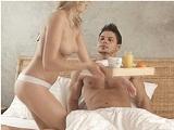Desayuno XXX en la cama