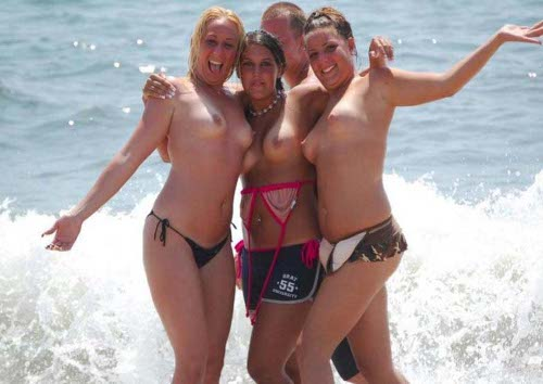 PornoMix: Fotos de chicas amateur en la playa