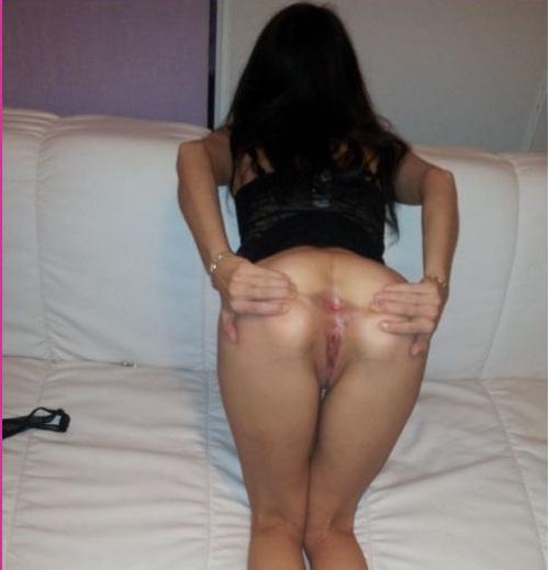Sexo anal con una morena amateur...